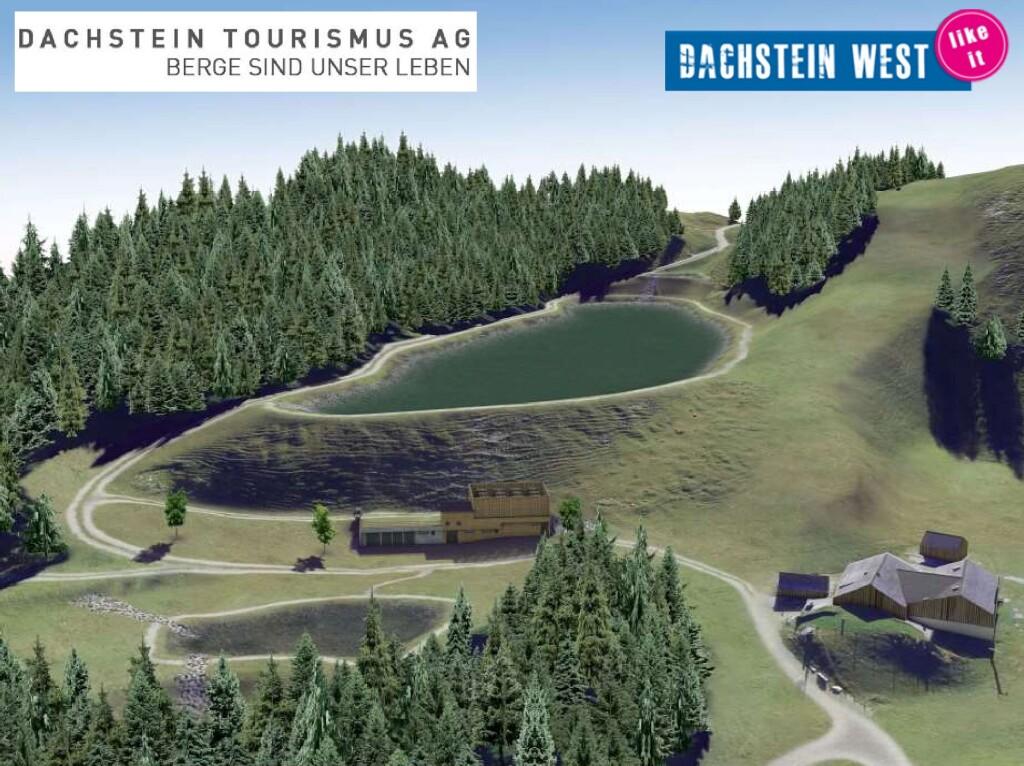 Beschneiungsteich Angerkaralm Dachstein West 2019/20