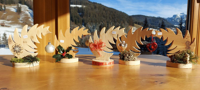 Weihnachtesbäume aus Holz