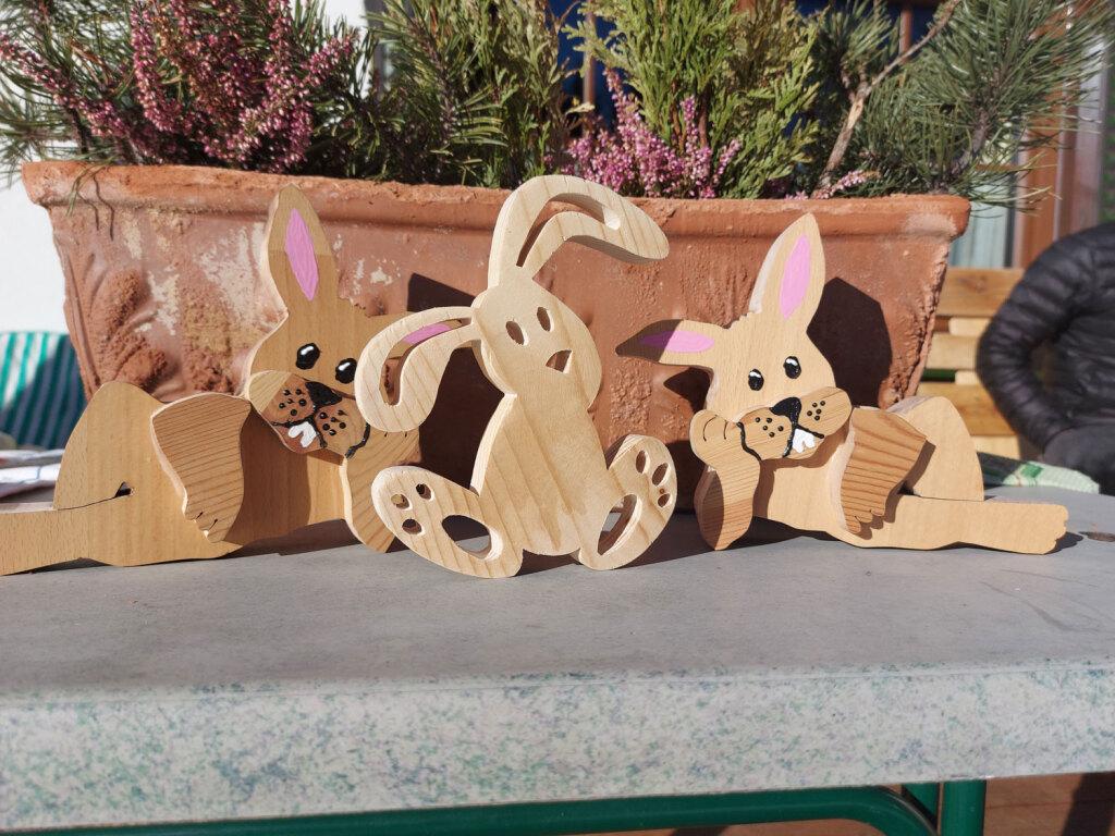 Hasen-Ostern-Holz