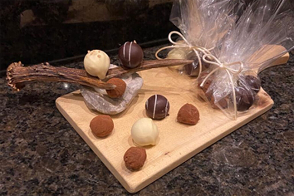Pralinen-handgemacht-Schokolade