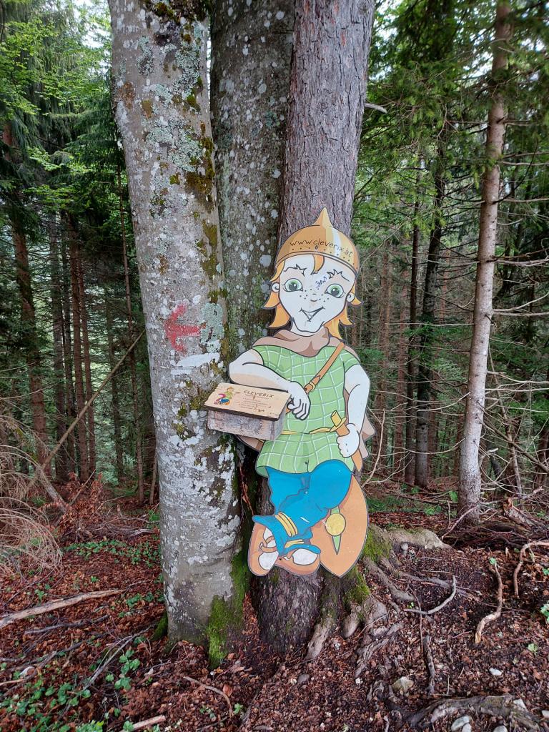Cleverix im Lammertaler Urwald