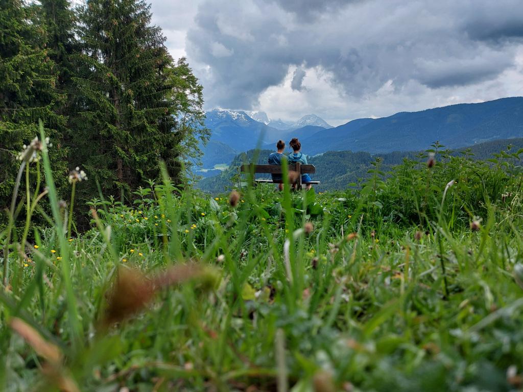 Romantischer Platz im Salzburger Land