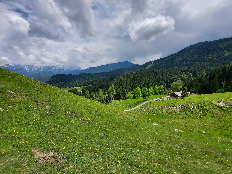 Hütte mit Käserei im Salzburger Land