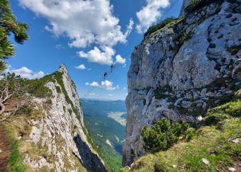 Himmelsleiter am Donnerkogel Klettersteig