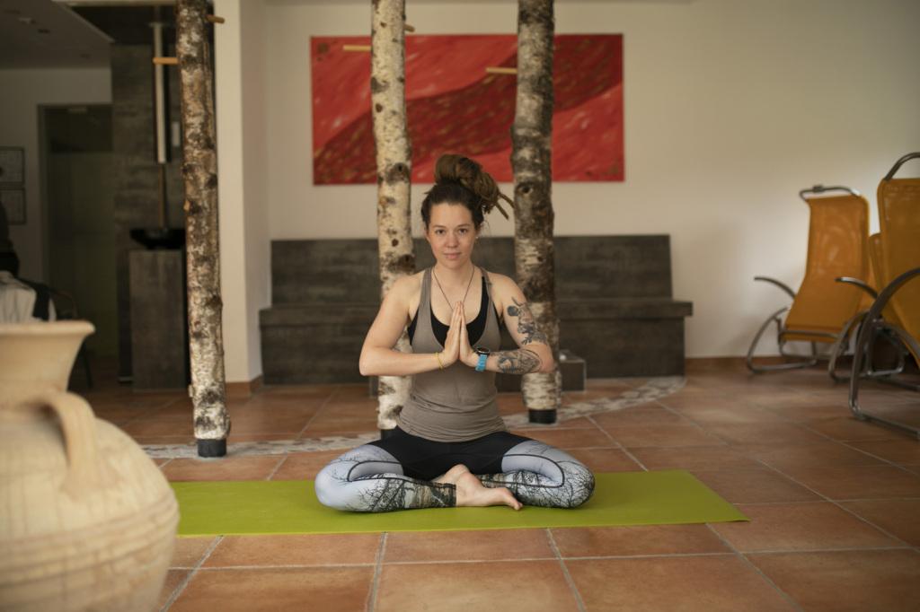 Meditation im Yogakurs
