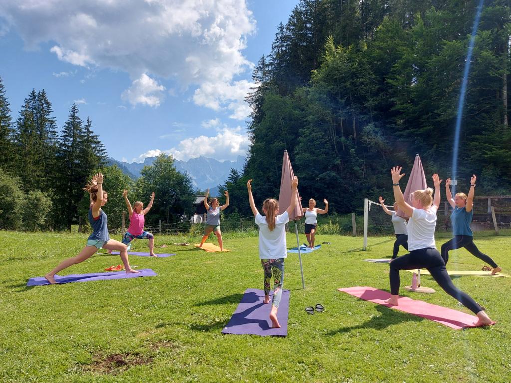 Krieger Flow im Hatha Yoga