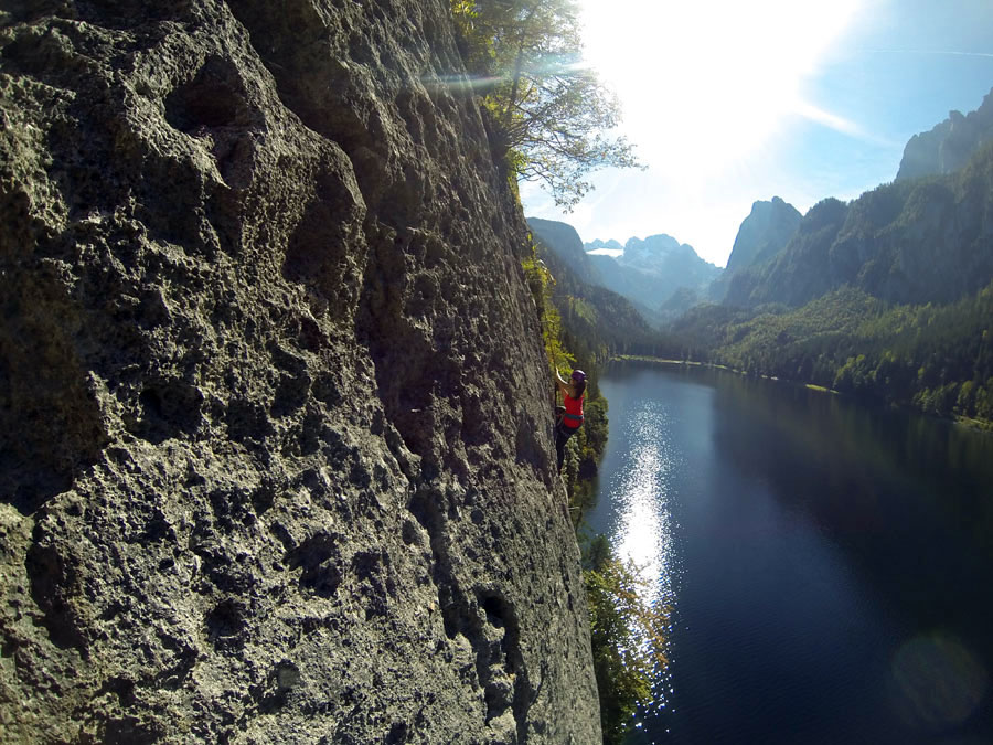 Klettersteig Gosau : Klettersteige im salzburger land kletterurlaub in salzburg