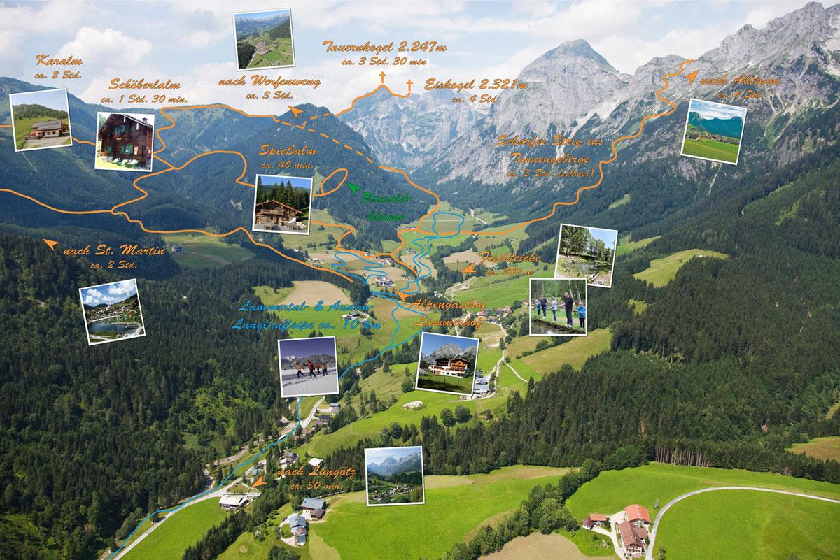 Annaberg-Lungtz in Salzburg - Alle Infos Stadtplan, Wetter