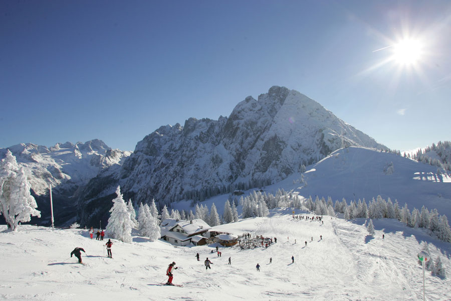 Familienskigebiet Dachstein West Skifahren In Salzburg